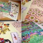 季節の千代紙(木版手摺り)-菊寿堂 いせ辰